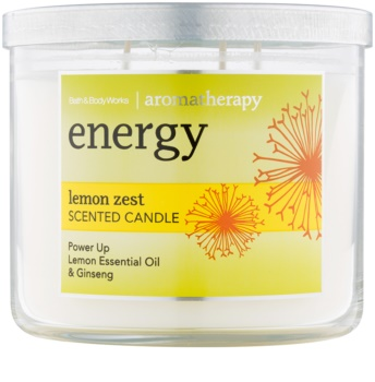 Bath & Body Works Energy Lemon Zest lumânare parfumată  411 g