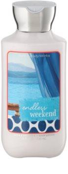 Bath & Body Works Endless Weekend mleczko do ciała dla kobiet 236 ml