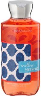 Bath & Body Works Endless Weekend gel de duche para mulheres 295 ml