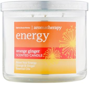 Bath & Body Works Energy Orange Ginger vonná sviečka 411 g