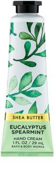 Bath & Body Works Eucalyptus Spearmint crema de manos