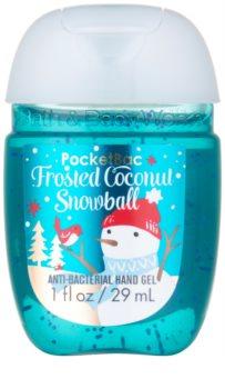 Bath & Body Works PocketBac Frosted Coconut Snowball gel  para as mãos
