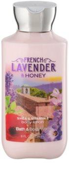 Bath & Body Works French Lavender And Honey lapte de corp pentru femei 236 ml