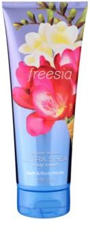 Bath & Body Works Freesia telový krém pre ženy 226 g