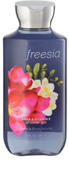 Bath & Body Works Freesia gel de duche para mulheres 295 ml
