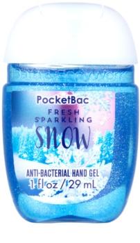 Bath & Body Works PocketBac Fresh Sparkling Snow antibakteriálny gél na ruky