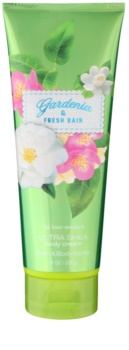 Bath & Body Works Gardenia & Fresh Rain tělový krém pro ženy 226 g