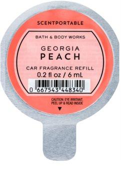 Bath & Body Works Georgia Peach Deodorante per auto 6 ml ricarica