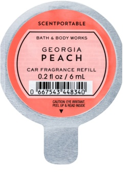 Bath & Body Works Georgia Peach Désodorisant voiture 6 ml recharge