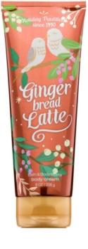 Bath & Body Works Gingerbread Latte tělový krém pro ženy 226 ml
