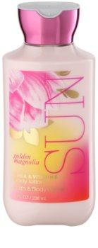 Bath & Body Works Golden Magnolia Sun lapte de corp pentru femei 236 ml