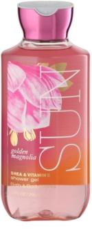 Bath & Body Works Golden Magnolia Sun Duschgel für Damen 295 ml