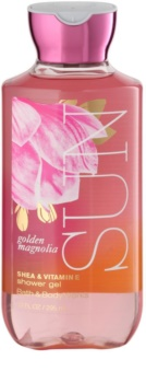 Bath & Body Works Golden Magnolia Sun gel de duche para mulheres 295 ml
