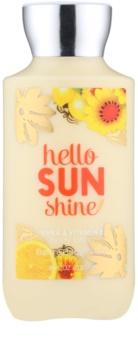 Bath & Body Works Hello Sunshine latte corpo per donna 236 ml