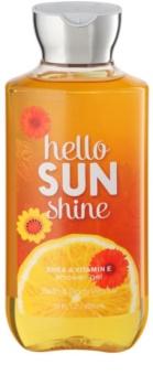 Bath & Body Works Hello Sunshine gel de douche pour femme 295 ml