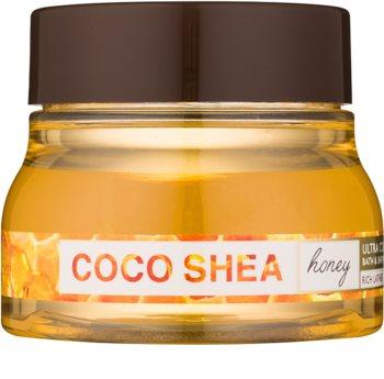 Bath & Body Works Cocoshea Honey koupelový přípravek pro ženy 226 g