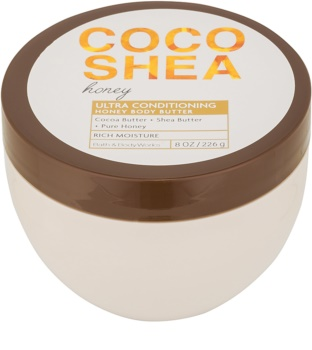 Bath & Body Works Cocoshea Honey telové maslo pre ženy 226 g