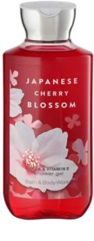 Bath & Body Works Japanese Cherry Blossom Duschgel für Damen 295 ml