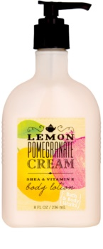 Bath & Body Works Lemon Pomegranate leite corporal para mulheres 236 ml
