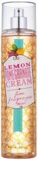 Bath & Body Works Lemon Pomegranate spray do ciała dla kobiet 236 ml