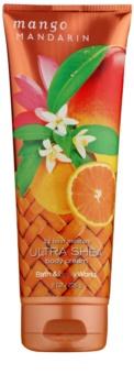 Bath & Body Works Mango Mandarin tělový krém pro ženy 226 g
