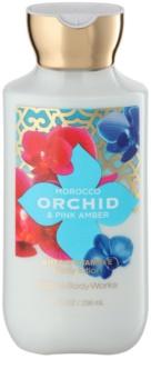 Bath & Body Works Morocco Orchid & Pink Amber mleczko do ciała dla kobiet 236 ml