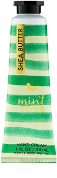 Bath & Body Works Mint to Be crème mains