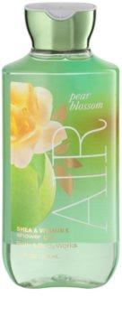 Bath & Body Works Pear Blossom Air gel de dus pentru femei 295 ml