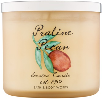 Bath & Body Works Praline Pecan illatos gyertya  411 g