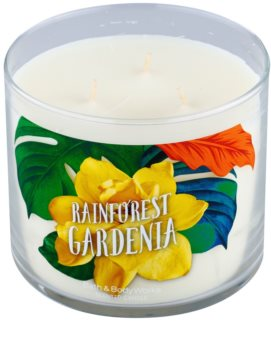 Bath & Body Works Rainforest Gardenia Scented Candle 411 g