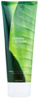 Bath & Body Works Rainkissed Leaves crème corps pour femme 226 g
