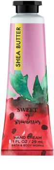 Bath & Body Works Sweet as Strawberries crema de maini