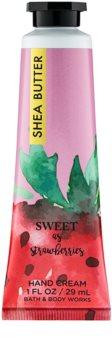 Bath & Body Works Sweet as Strawberries crème mains