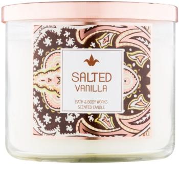 Bath & Body Works Salted Vanilla vela perfumado 411 g