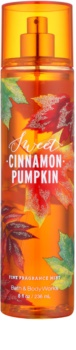 Bath & Body Works Sweet Cinnamon Pumpkin Bodyspray  voor Vrouwen  236 ml