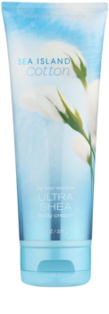 Bath & Body Works Sea Island Cotton crème corps pour femme 226 g