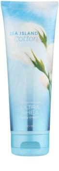 Bath & Body Works Sea Island Cotton tělový krém pro ženy 226 g