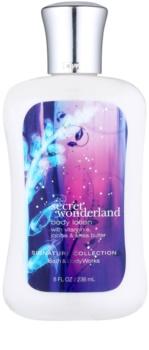 Bath & Body Works Secret Wonderland tělové mléko pro ženy 236 ml