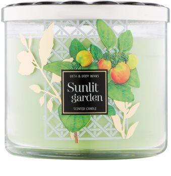 Bath & Body Works Sunlit Garden świeczka zapachowa  411 g