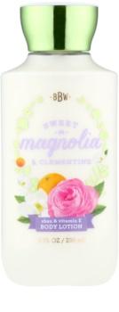 Bath & Body Works Sweet Magnolia & Clementine telové mlieko pre ženy 236 ml
