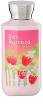 Bath & Body Works Sun Ripened Raspberry lapte de corp pentru femei 236 ml