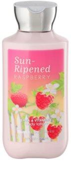 Bath & Body Works Sun Ripened Raspberry losjon za telo za ženske 236 ml
