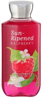 Bath & Body Works Sun Ripened Raspberry sprchový gél pre ženy 295 ml