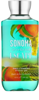 Bath & Body Works Sonama Weekend Escape sprchový gél pre ženy 295 ml