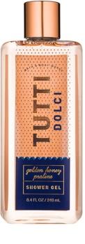 Bath & Body Works Tutti Dolci Golden Honey Praline sprchový gél pre ženy