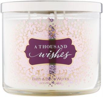 Bath & Body Works A Thousand Wishes bougie parfumée 411 g