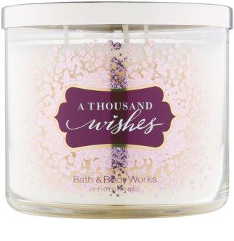 Bath & Body Works A Thousand Wishes Duftkerze  411 g