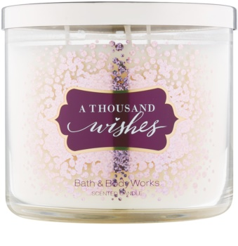 Bath & Body Works A Thousand Wishes vela perfumada  411 g