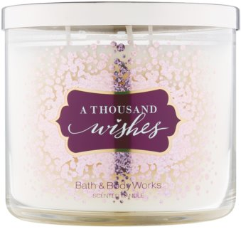 Bath & Body Works A Thousand Wishes vela perfumada