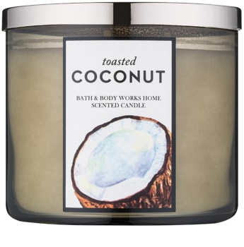 Bath & Body Works Toasted Coconut candela profumata 411 g